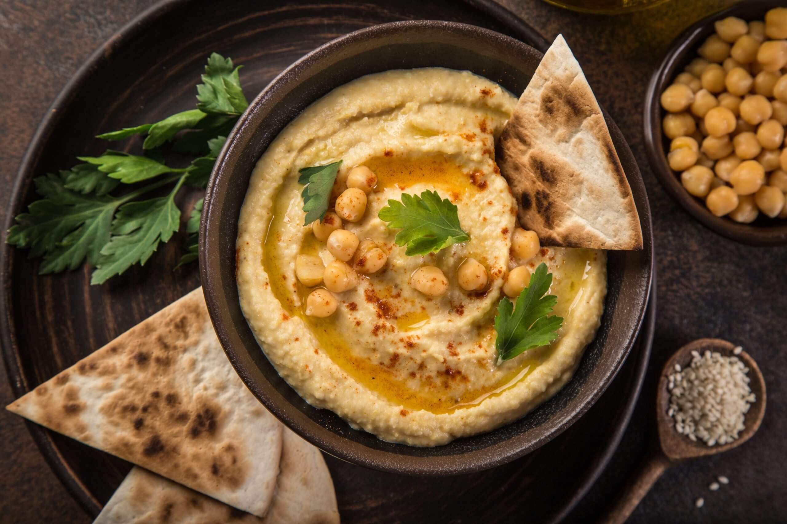 Hummus-Rezept-auch-zum-selber-machen-Kichererbsenmus